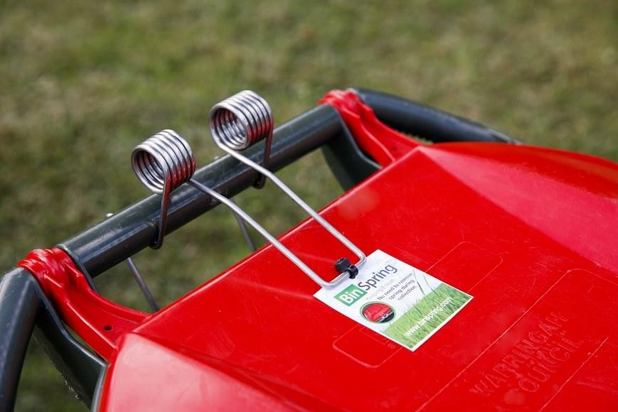 BinSpring Premium Red Wheelie Bin